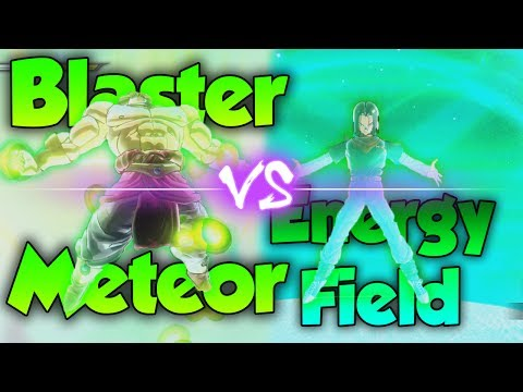 Blaster Meteor vs Energy Field! Which Energy Shield is Better? - Dragon Ball Xenoverse 2