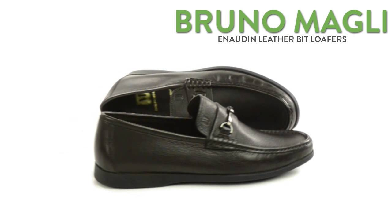 810426d3723 Bruno Magli Enaudin Loafers - Leather (For Men) - YouTube