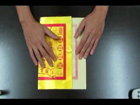 Folding Joss Paper