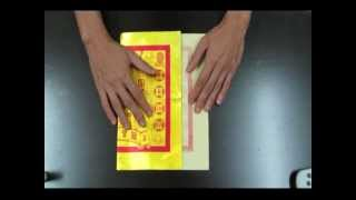 Repeat youtube video Folding Thnee Kong Kim II - Joss Paper Gold Ingot