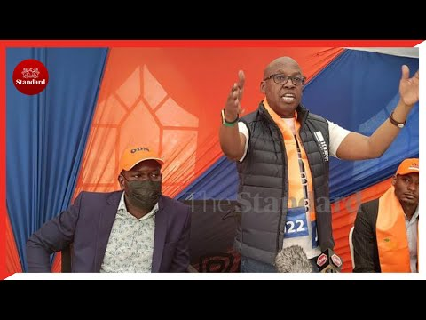 Jimmy Wanjigi accuses President Uhuru of failing to introduce Raila to voters in the Mt Kenya region