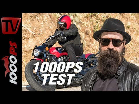 1000PS Test - Indian Scout Bobber