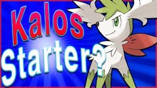 Shaymin Was a Kalos Starter? Pokémon Theory