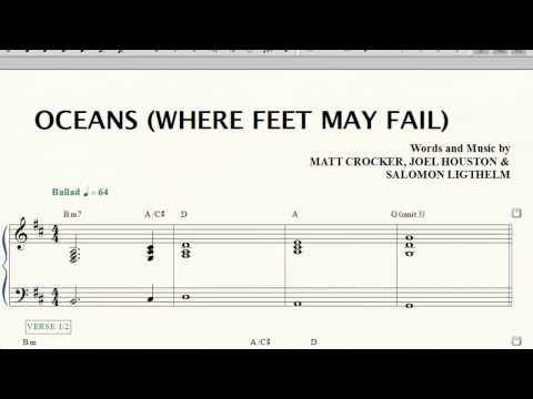 Hillsong UNITED: Oceans (Where feet may fail) _PVG