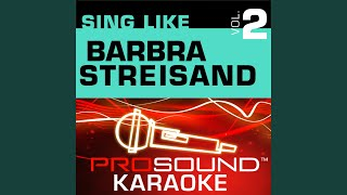 People (Karaoke Instrumental Track) (In the Style of Barbra Streisand)
