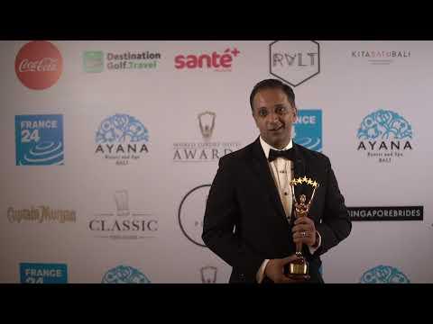 Weligama Bay Marriott Resort & Spa Continent Winner Asia Best General Manger