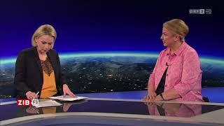 Interview mit Hartinger-Klein zur AUVA | ZIB2 06.04.2018