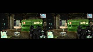 Battlefield Bad Company 2 in Stereoscopic 3D!