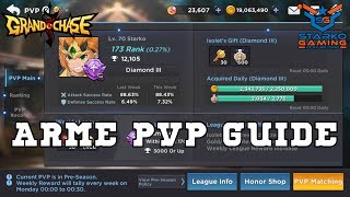 Arme PvP Guide - TOP 200 Ranking [NA]   Grand Chase