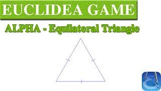 Euclidea (Alpha) Equilateral Triangle   Online Courses   Math Games   Math Garden 🌟🌟🌟🌟