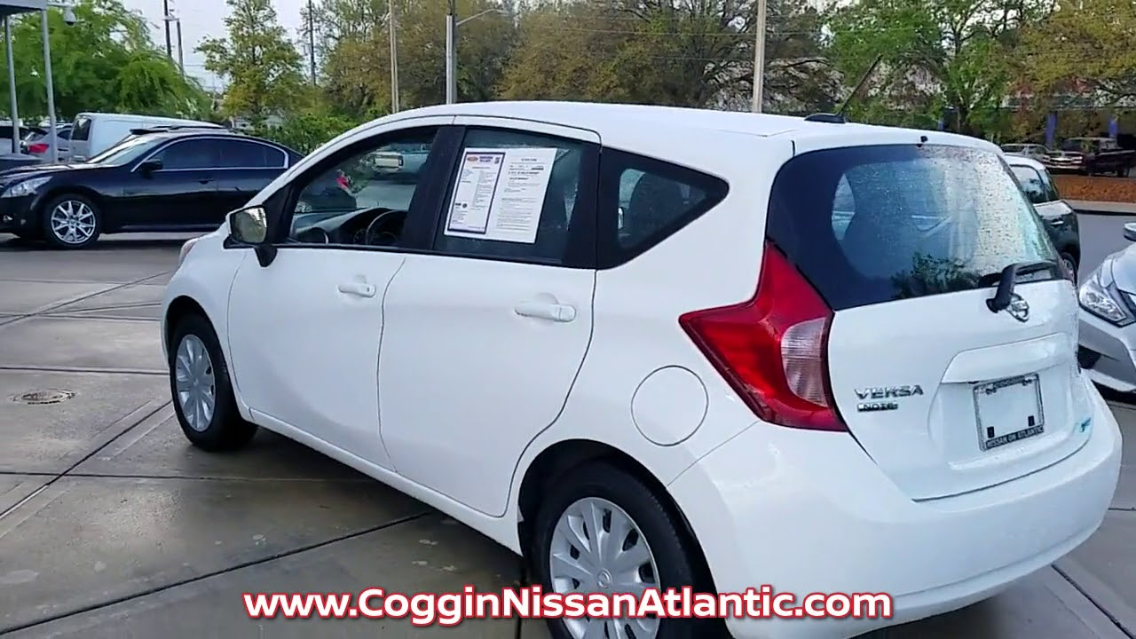 USED 2016 NISSAN VERSA NOTE SV at Coggin Nissan Atlantic Used ...