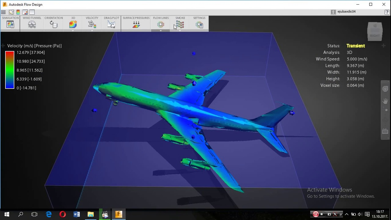 CFD Simulation Free downlad for students Autodesk Flow Design
