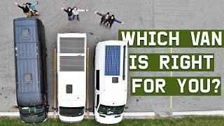 VAN LIFE | choosing the right van for you