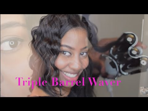 Gold N Hot Series Anium Triple Barrel Waver Waves For Spring You
