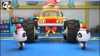 [Christmas 🎅] Monster Car Taxi Original Songs | Children's Songs | Preschool Music | Tonglu | Baby