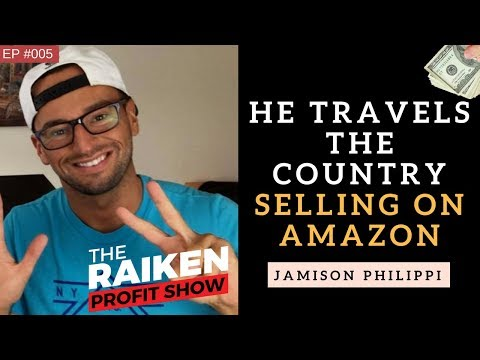 How To Travel The Country Selling on Amazon FBA With Jamison