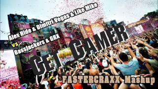 Alex Hide & DV & LM vs Bassjackers & GRX - Get Gamer (.GUARD Mashup)