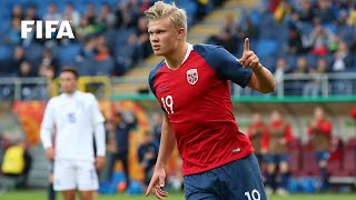 When Erling Haaland scored NINE goals in one game | FIFA U-20 World Cup