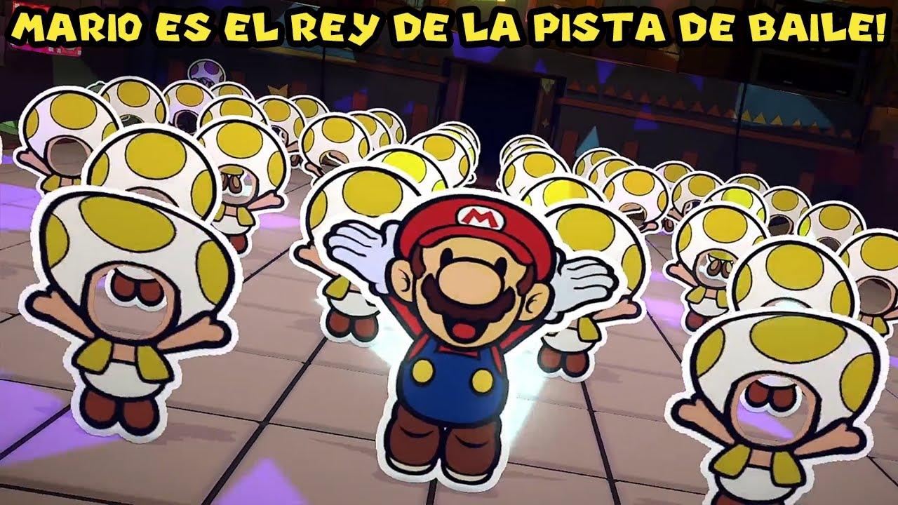 Mario el REY DE LA PISTA DE BAILE !! - Paper Mario Origami King con Pepe el Mago (#17)