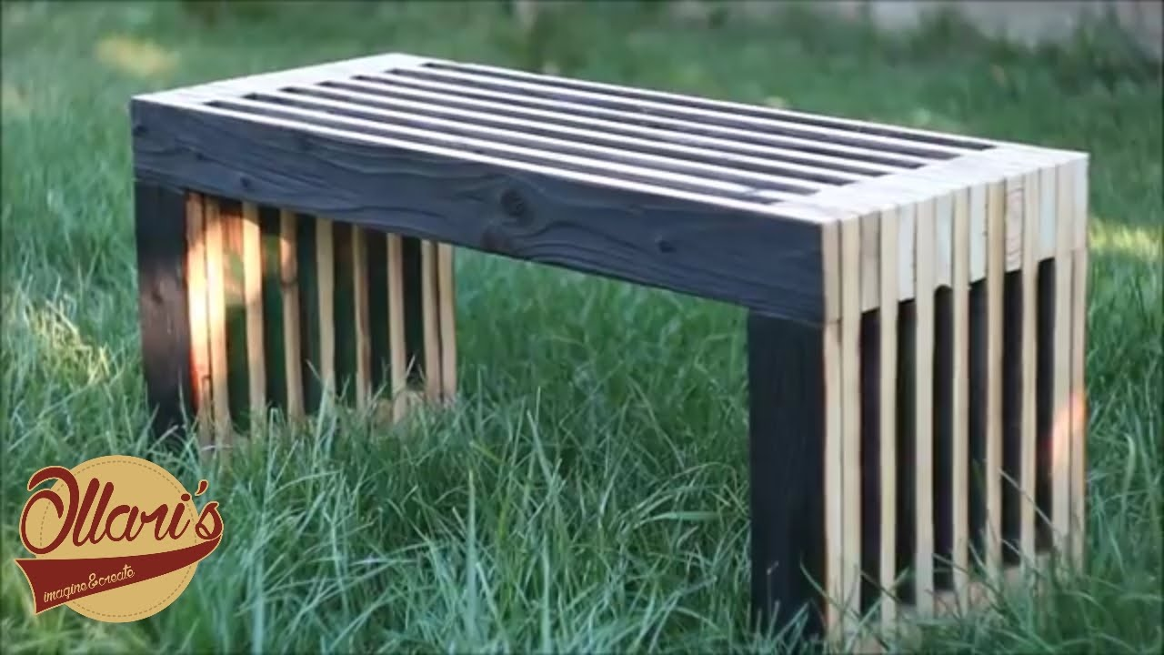 Making A Reclaimed Outdoor Sitting Bench ( From An Old Door)