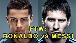 For The Win: Cristiano Ronaldo vs Leo Messi