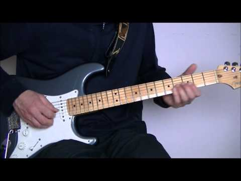 Pink Floyd On The Turning Away Guitar Solo Lesson Youtube