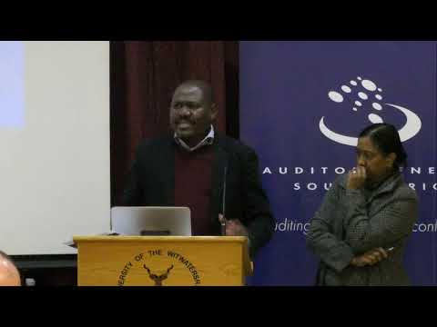 Auditor General Of South Africa ( AGSA ) Local Government Audit Outcomes 2017 - 18 Public Lecture