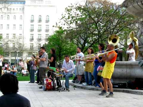 Daft Punk Cover by Horn Band in Budapest