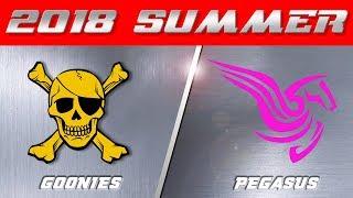 2018 Summer Season | Goonies v  Pegasus