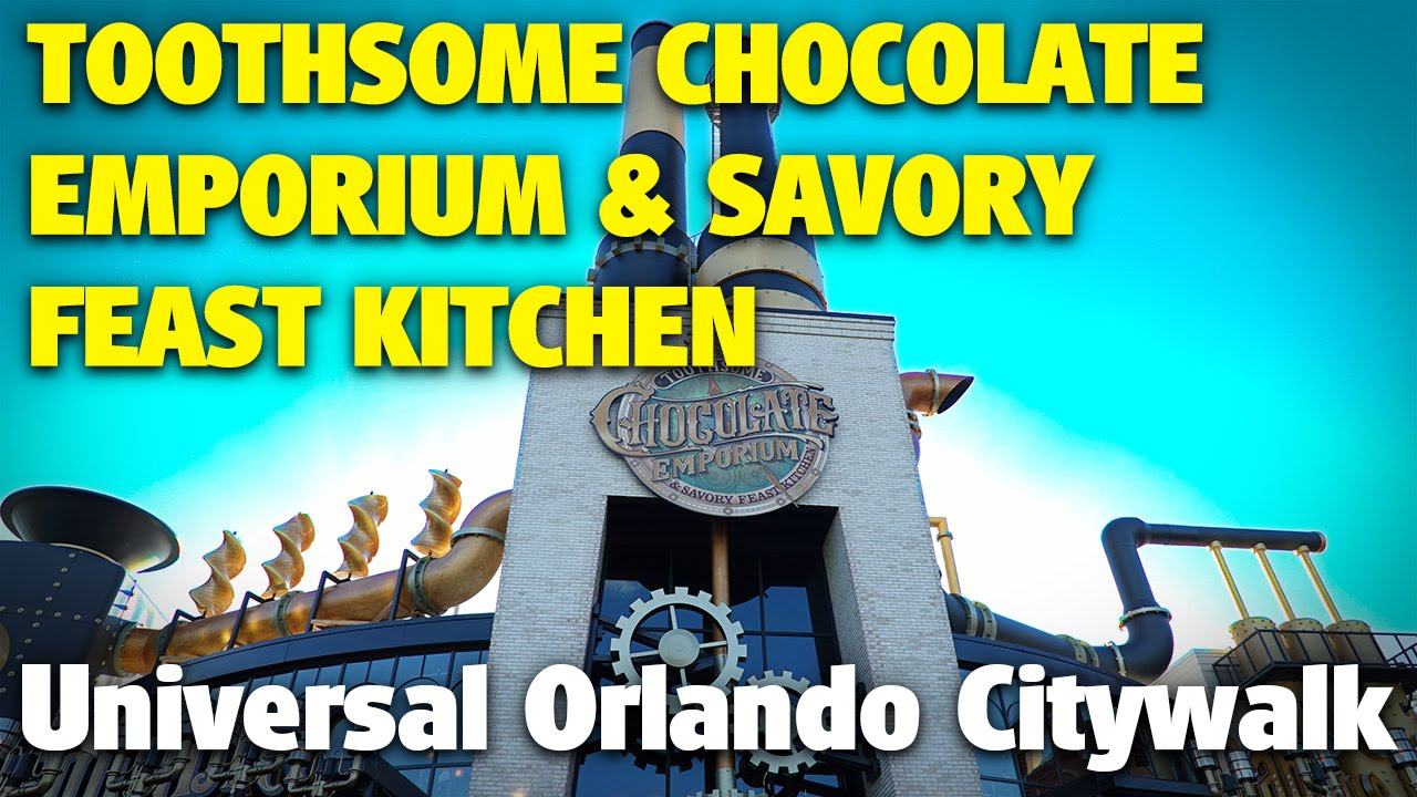 Toothsome Chocolate Emporium & Savory Feast Kitchen | Universal ...