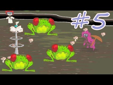 ОГРОМНЫЕ ЛЯГУШКИ! # 5. Пинки Пай в игре Draw a stickman EPIC 2. Стикмен май литл пони.