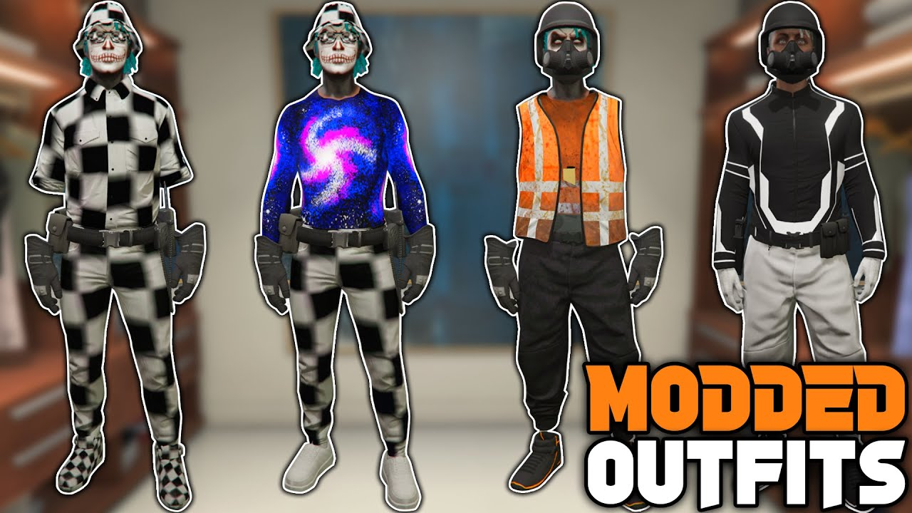GTA 5 ONLINE How To Get Multiple Modded Outfits All at ONCE! 1.54! (Gta 5 Clothing Glitches)