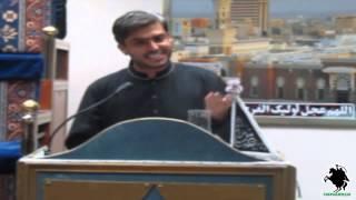 Yahan Bhi Ali (a.s.) Hai - Ishtiaq Hussain Diek (APIZ) - Birmingham - 27 July 2013/19 Ramzan 1434