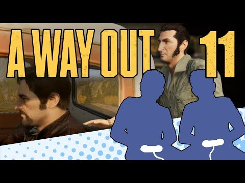 A Way Out - PART 11 - This Game Is Insanity - Let's Game It Out |