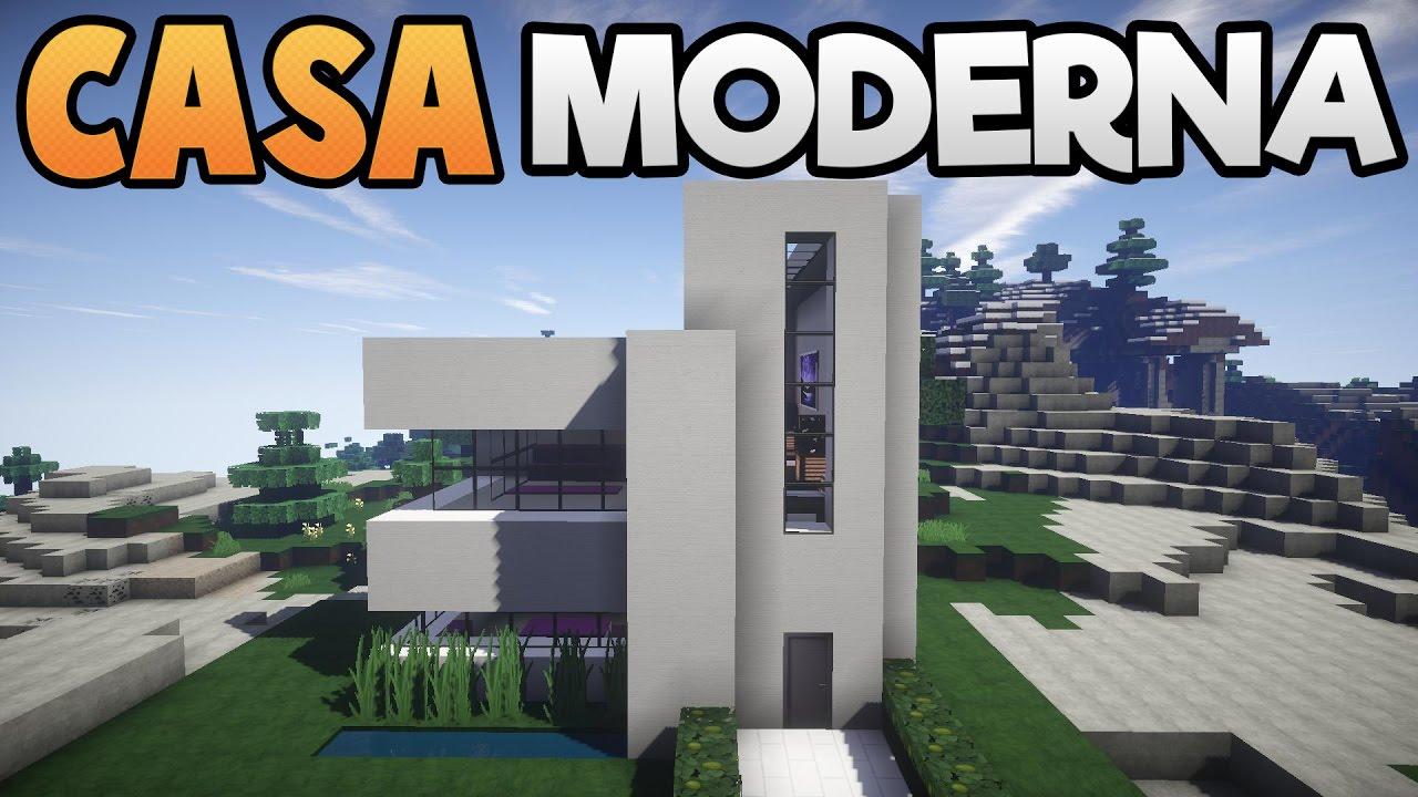 Come costruire una semplice casa moderna minecraft ita for Piani di costruzione casa moderna