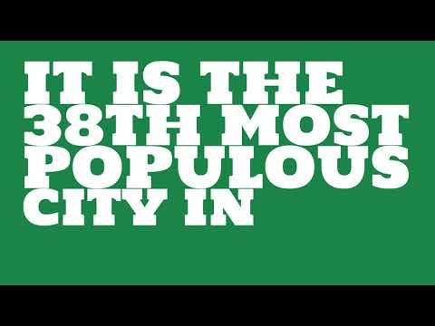 How does the population of Mesa, AZ compare to Manhattan?