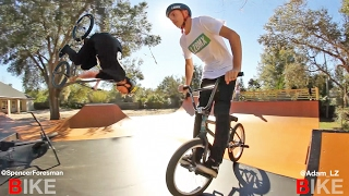 Backyard Game of BIKE: Adam LZ vs Spencer Foresman