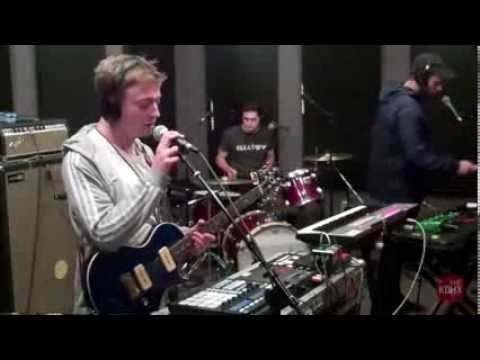 "Mount Kimbie ""Blood and Form"" Live at KDHX 10/21/13"