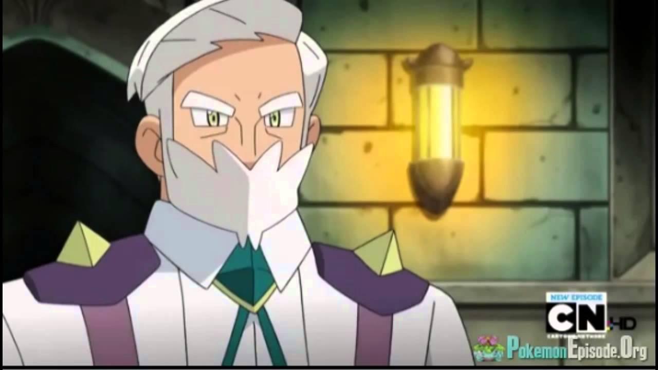 Pokemon Iris Vs Drayden! Haxorus vs Excadrill! (Music ...