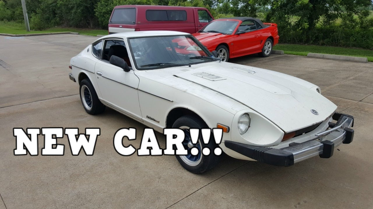 $500 Craigslist Datsun 280Z - NEW Project Car Ep. 1 - YouTube