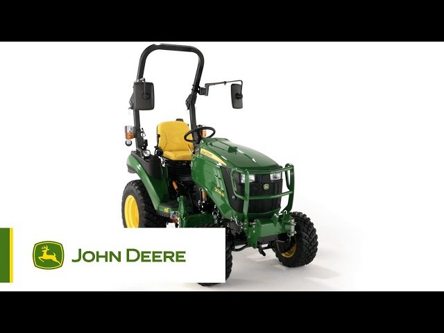 The John Deere 2026R Compact Utility Tractor