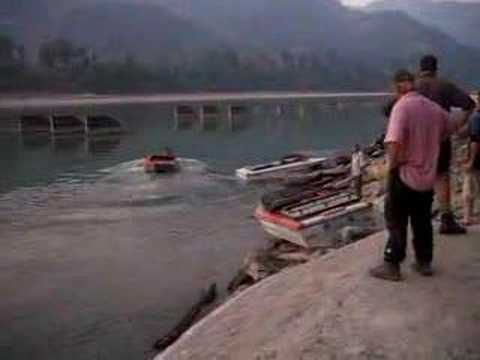 jet boat launch Nepal