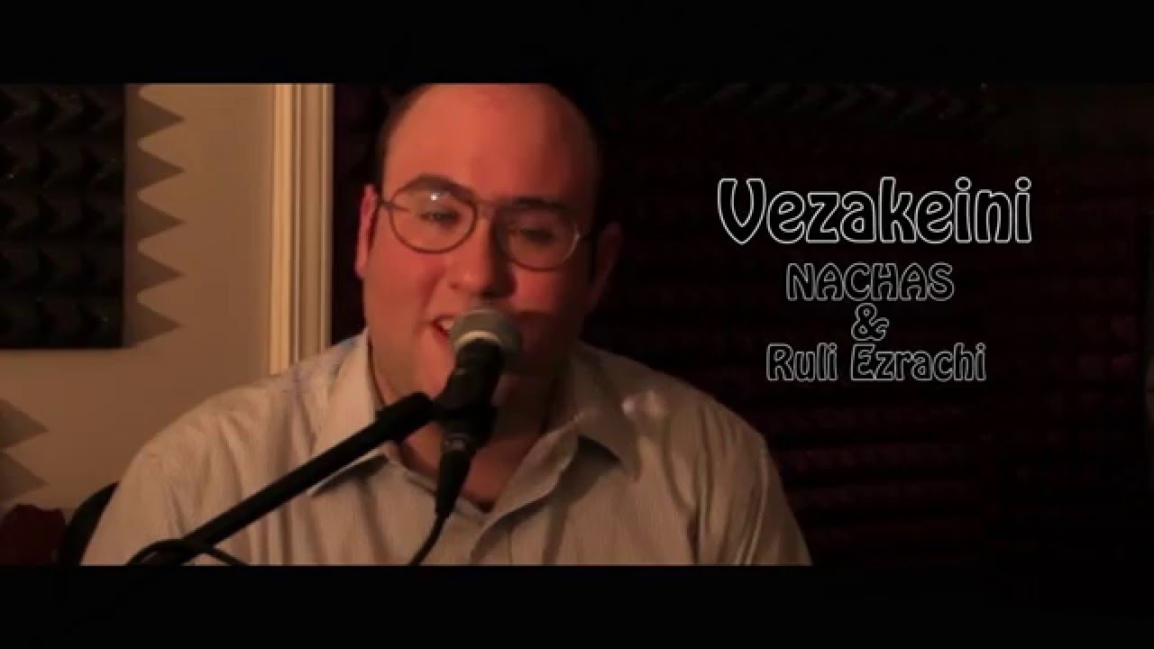 NACHAS- Vezakeini - (Composed by Yossi Green) Live Sessions With Ruli נחת - וזכייני