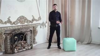 """Кресло-мешок """"Пуфик"""". Видео обзор от Misterpufik.ru"""