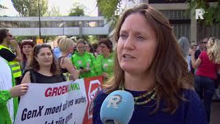Demonstratie in Dordrecht tegen drinkwater besmet met GenX