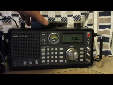 Grundig satellite 750 and MP3 recorder