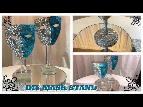 DIY - BLING MASK STAND