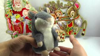 ОБЗОР: Говорящий Хомяк-Повторюшка (интерактивная мягкая игрушка)