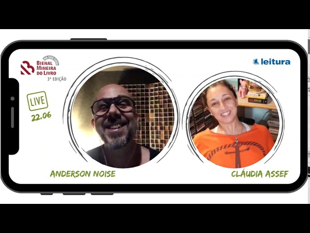 SELEÇÃO LIVES - 3ª edição Bienal Na Sua Casa - Anderson Noise e Cláudia Assef