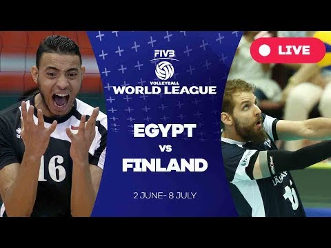 Egypt v Finland - Group 2: 2017 FIVB Volleyball World League